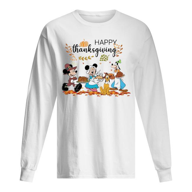 Disney Mickey Happy Thanksgiving Longsleeve