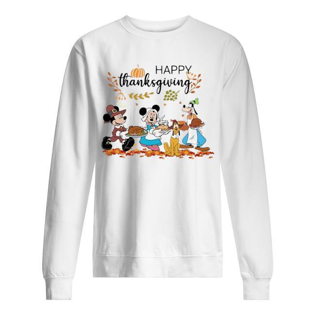 Disney Mickey Happy Thanksgiving Sweater