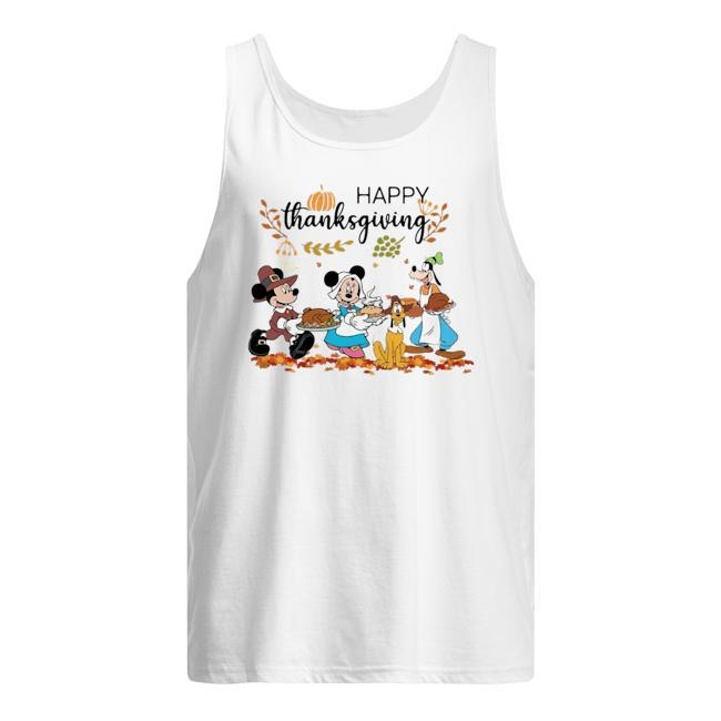Disney Mickey Happy Thanksgiving Tank Top