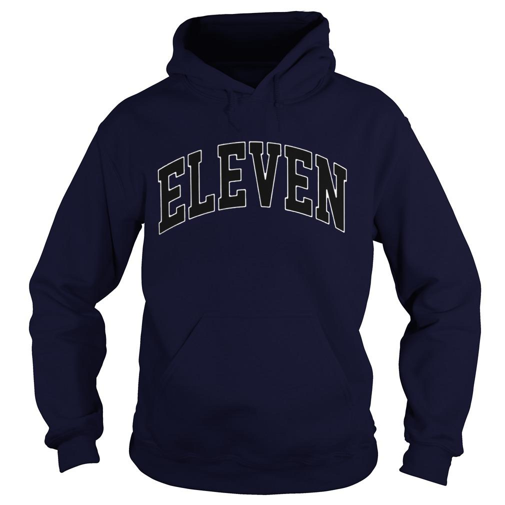 Eleven Season 3 Yellow Hoodie