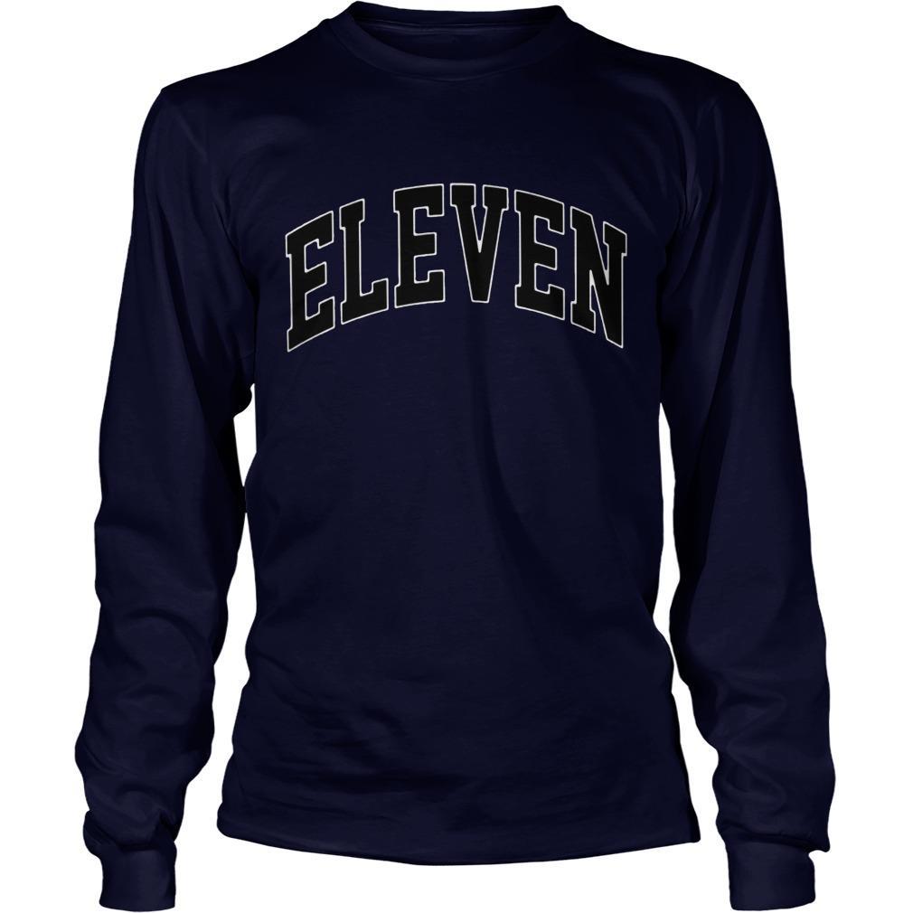 Eleven Season 3 Yellow Longsleeve