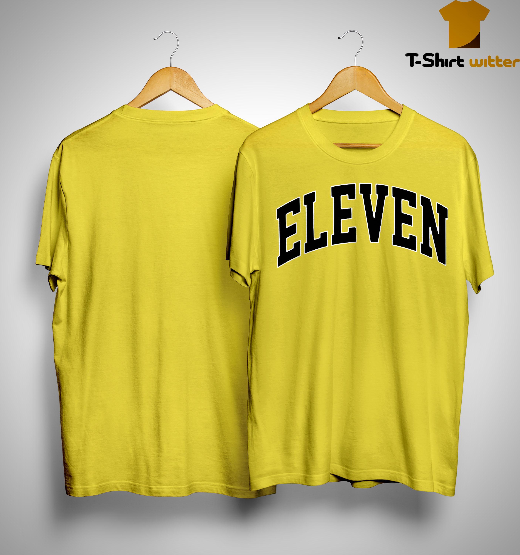 Eleven Season 3 Yellow Shirt