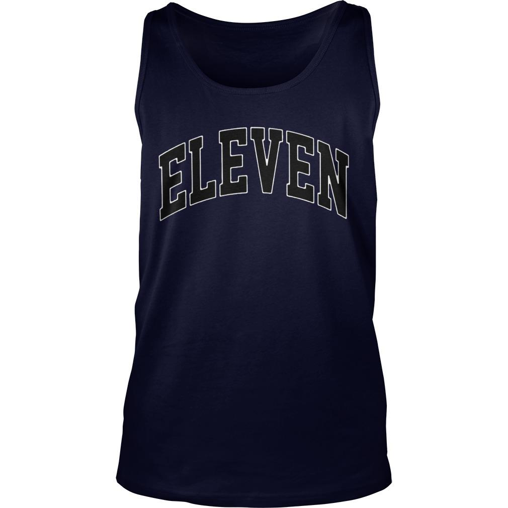 Eleven Season 3 Yellow Tank Top