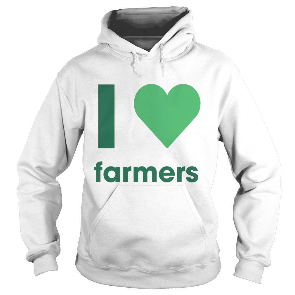 Gladys Berejiklian I Love Farmers Hoodie