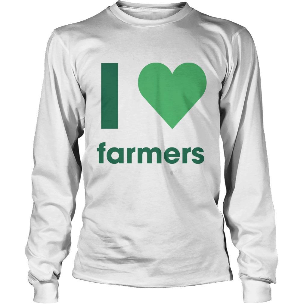 Gladys Berejiklian I Love Farmers Longsleeve