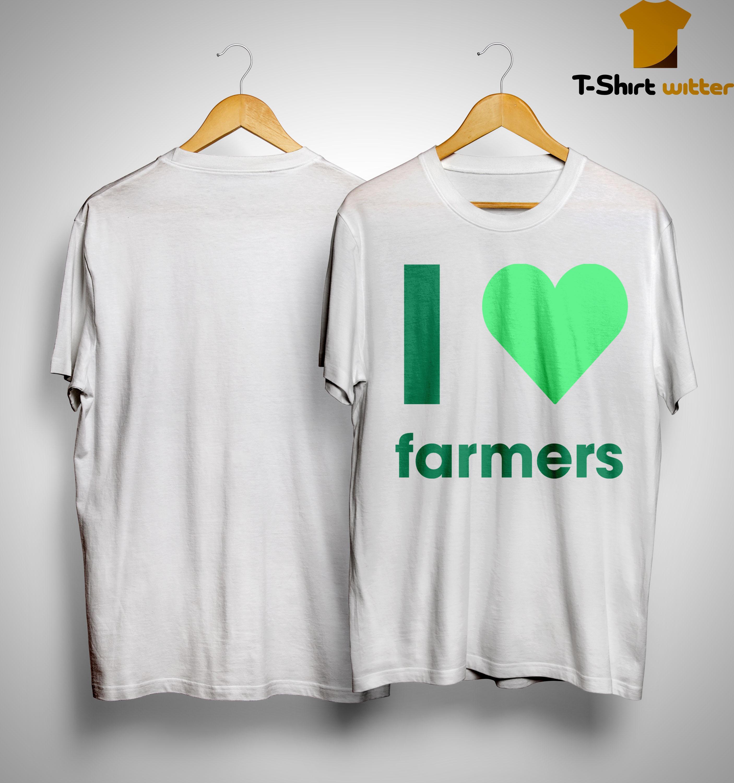 Gladys Berejiklian I Love Farmers Shirt