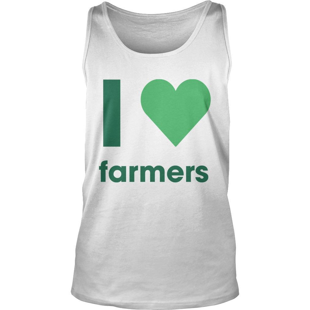 Gladys Berejiklian I Love Farmers Tank Top