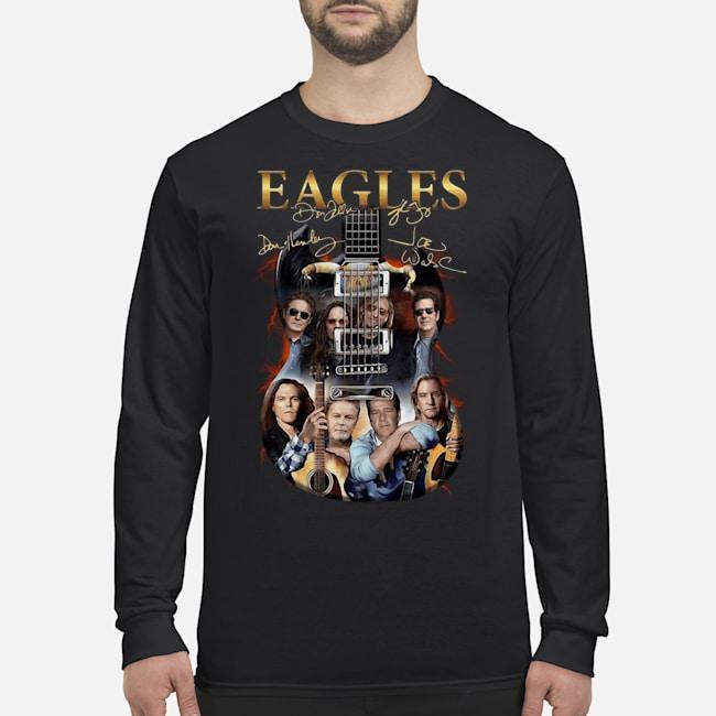 Guitar Eagles Signatures Longsleeve