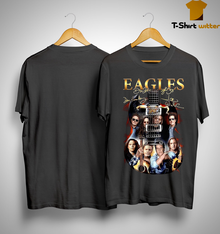 Guitar Eagles Signatures Shirt