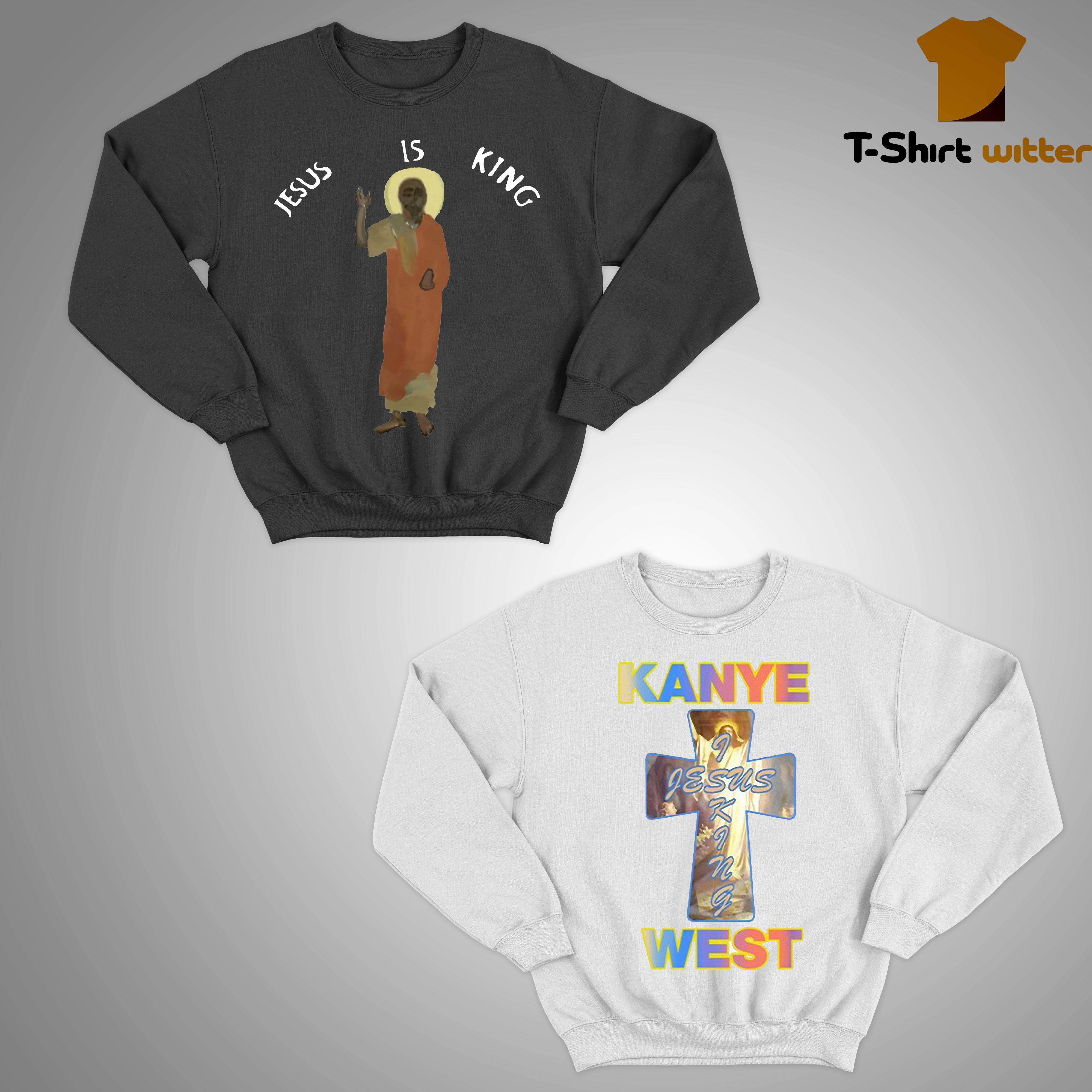 Kanye West Jesus Is King Sweater