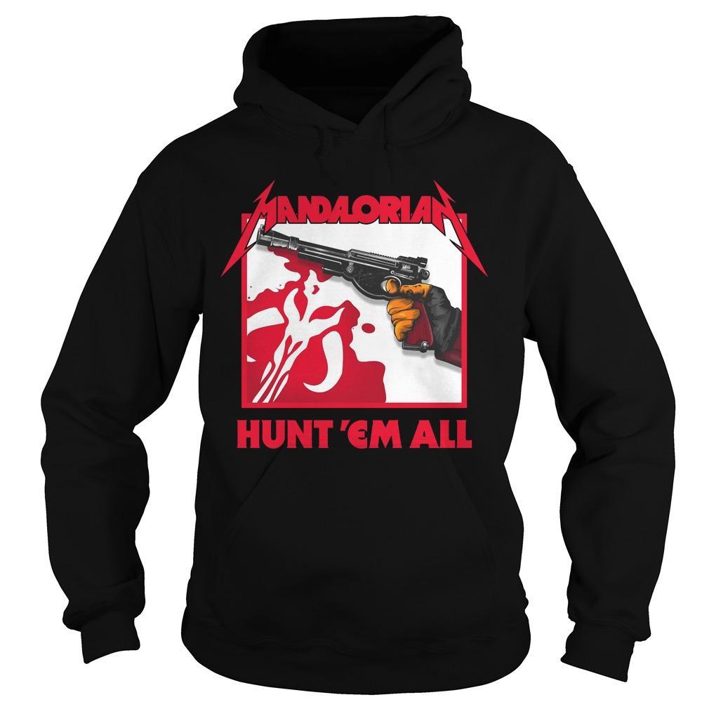 Mandalorian Hunt 'em All Hoodie