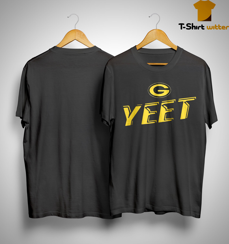 Nathaniel Hackett Green Bay Packers Yeet Shirt