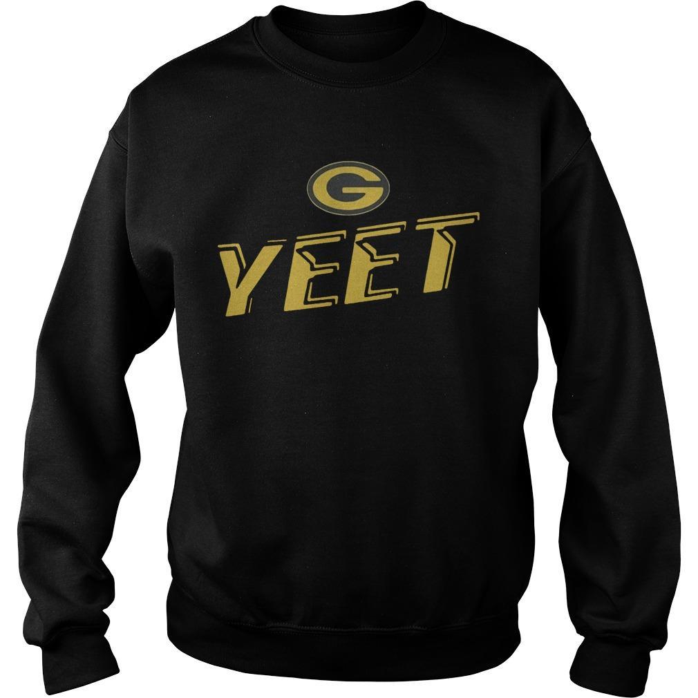 Nathaniel Hackett Green Bay Packers Yeet Sweater