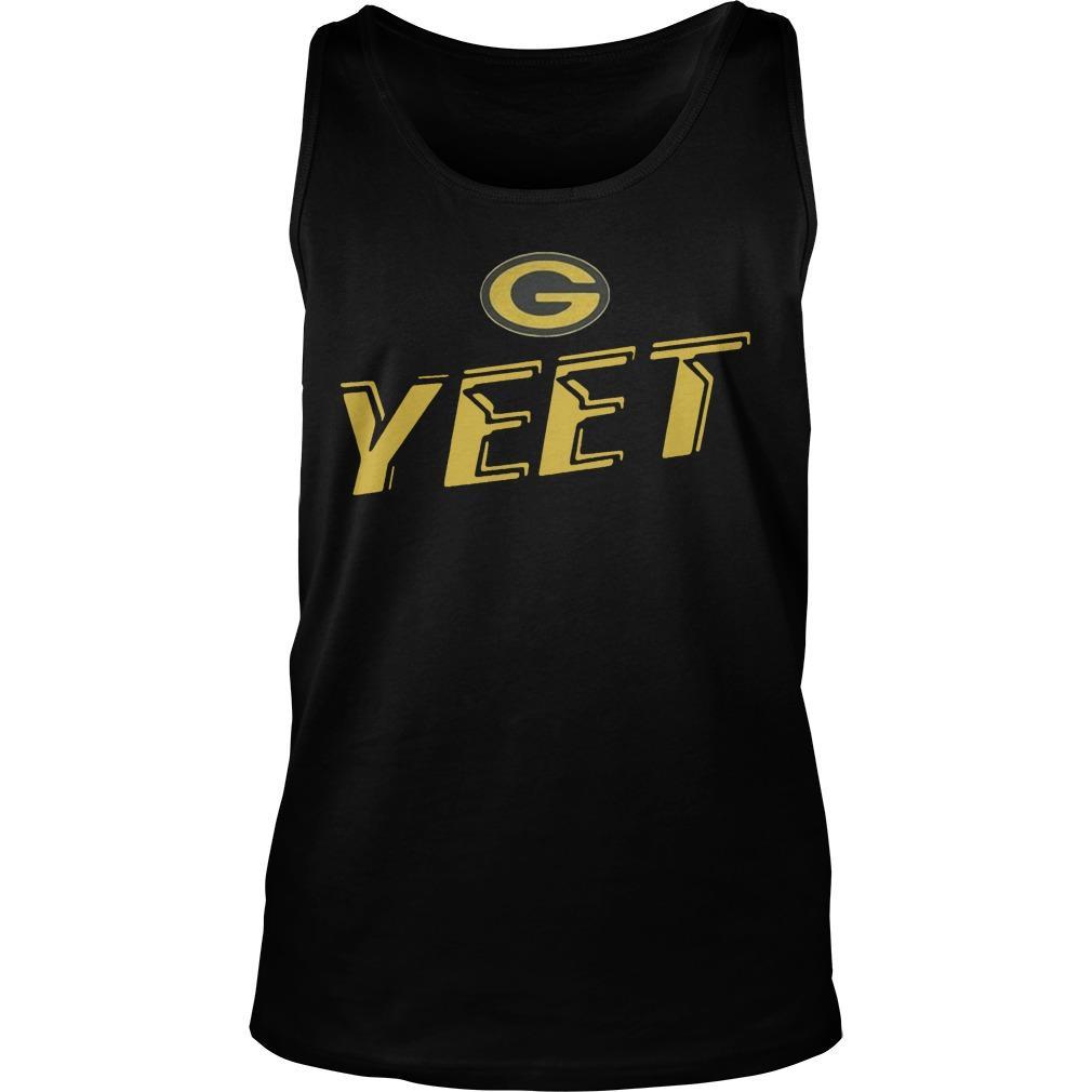 Nathaniel Hackett Green Bay Packers Yeet Tank Top