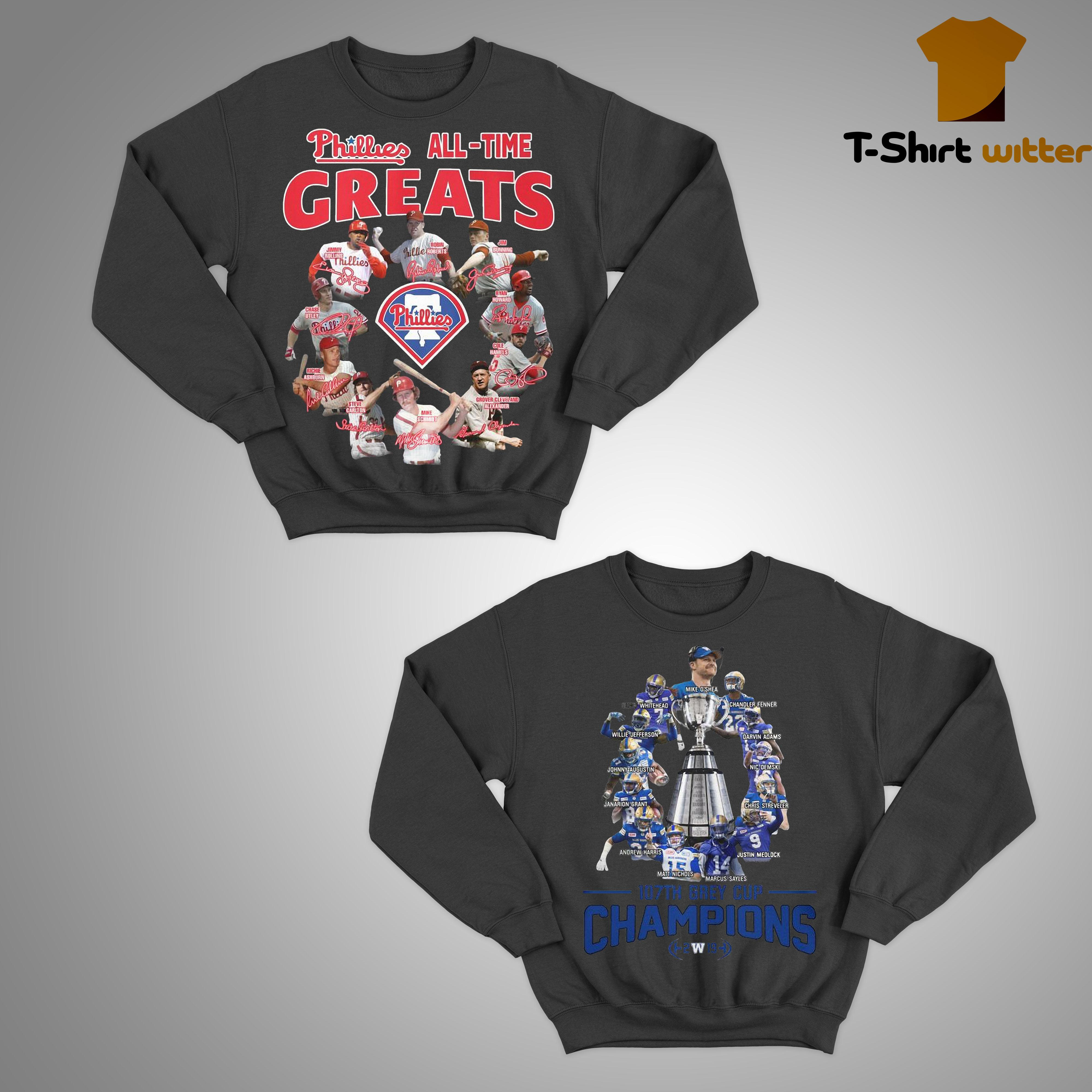 Phillies All Time Greats Sweater