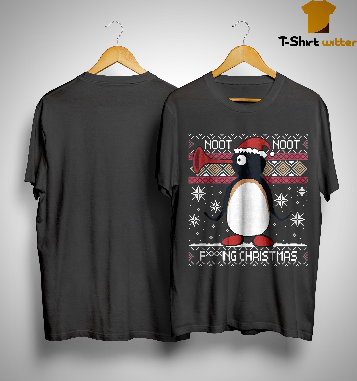 Pingu Noot Noot Fucking Christmas Shirt