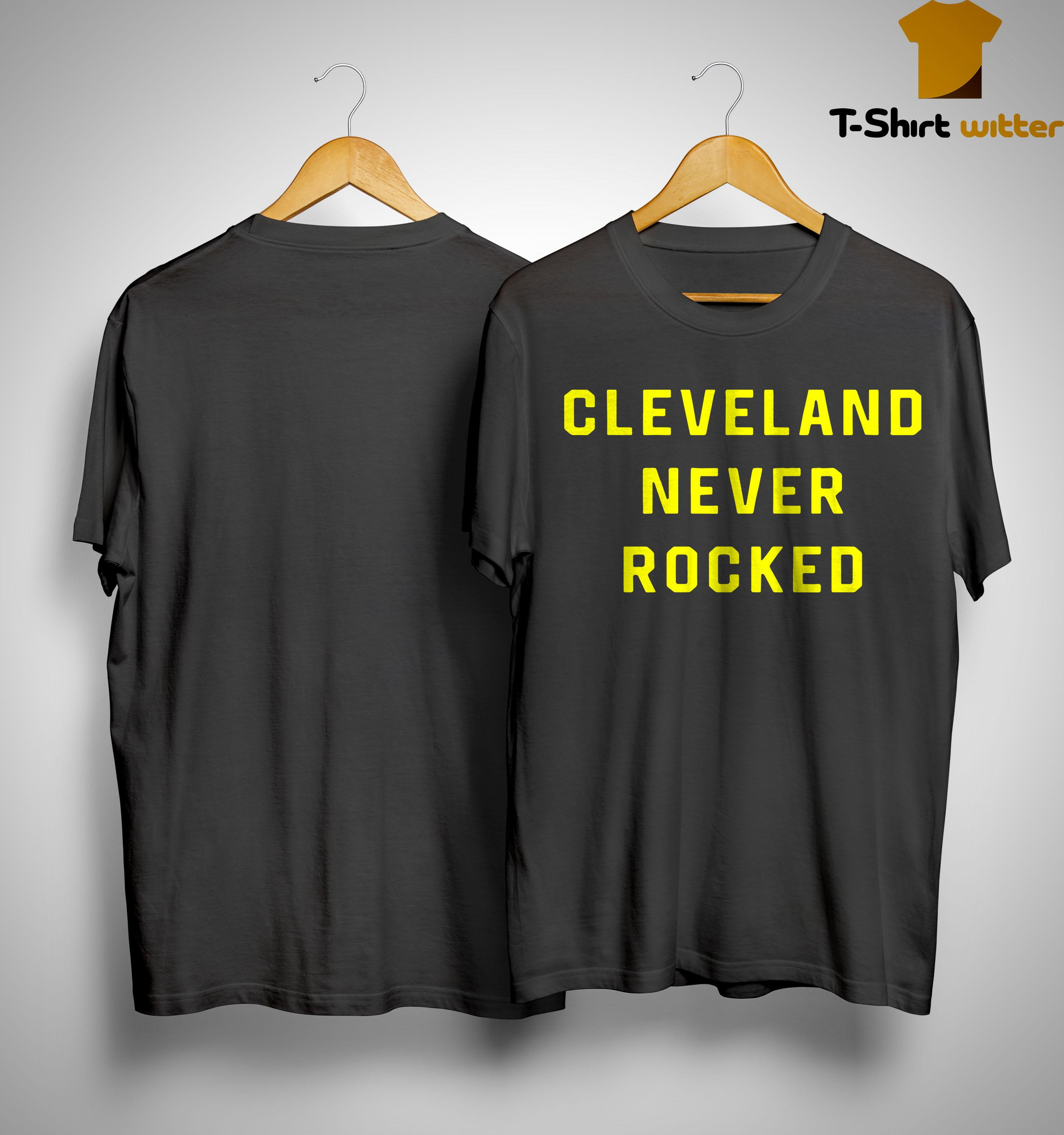 Pittsburgh Dad Cleveland Never Rocked Shirt