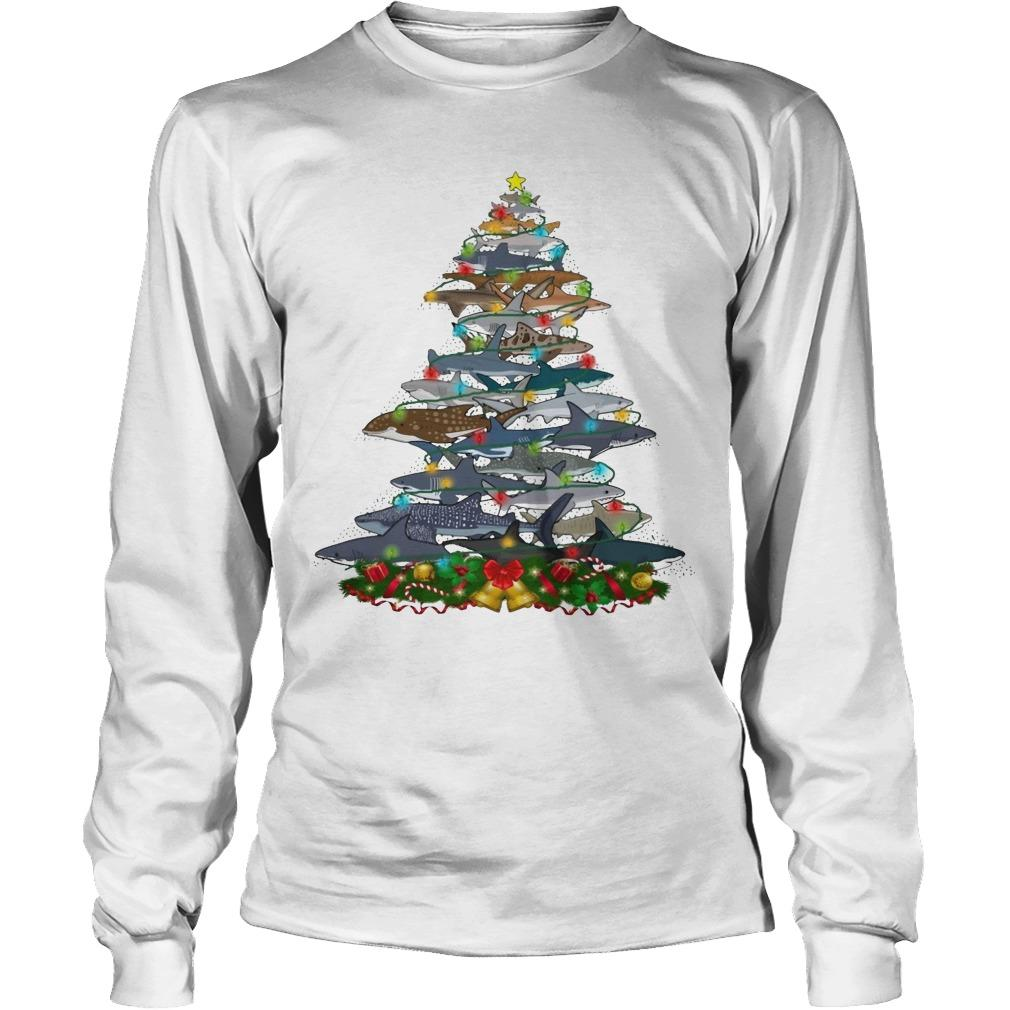 Shark Christmas Tree Longsleeve