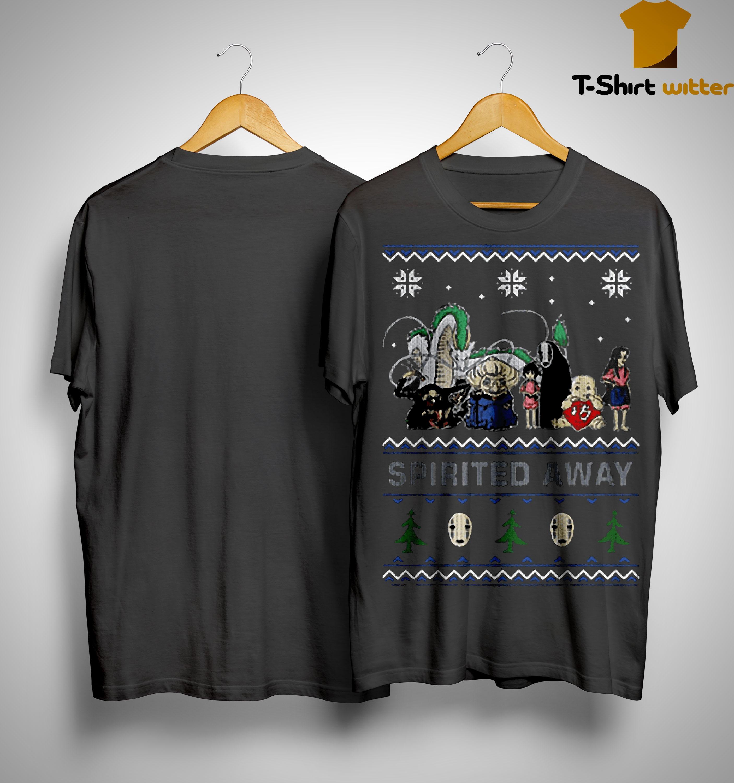 Spirited Away Ugly Christmas Shirt