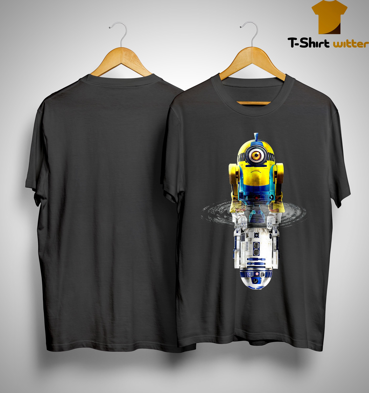 Star Wars Minions R2D2 Water Reflection Shirt