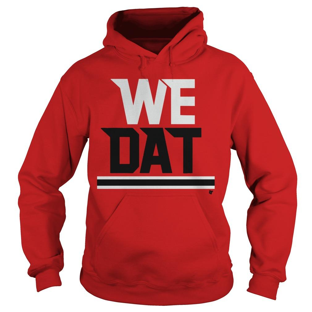 The Falcons Saints We Dat Hoodie