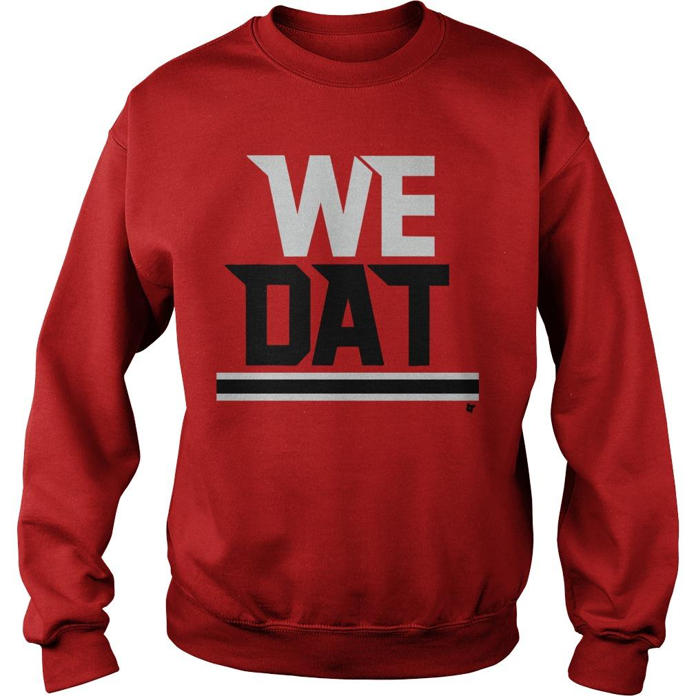The Falcons Saints We Dat Sweater