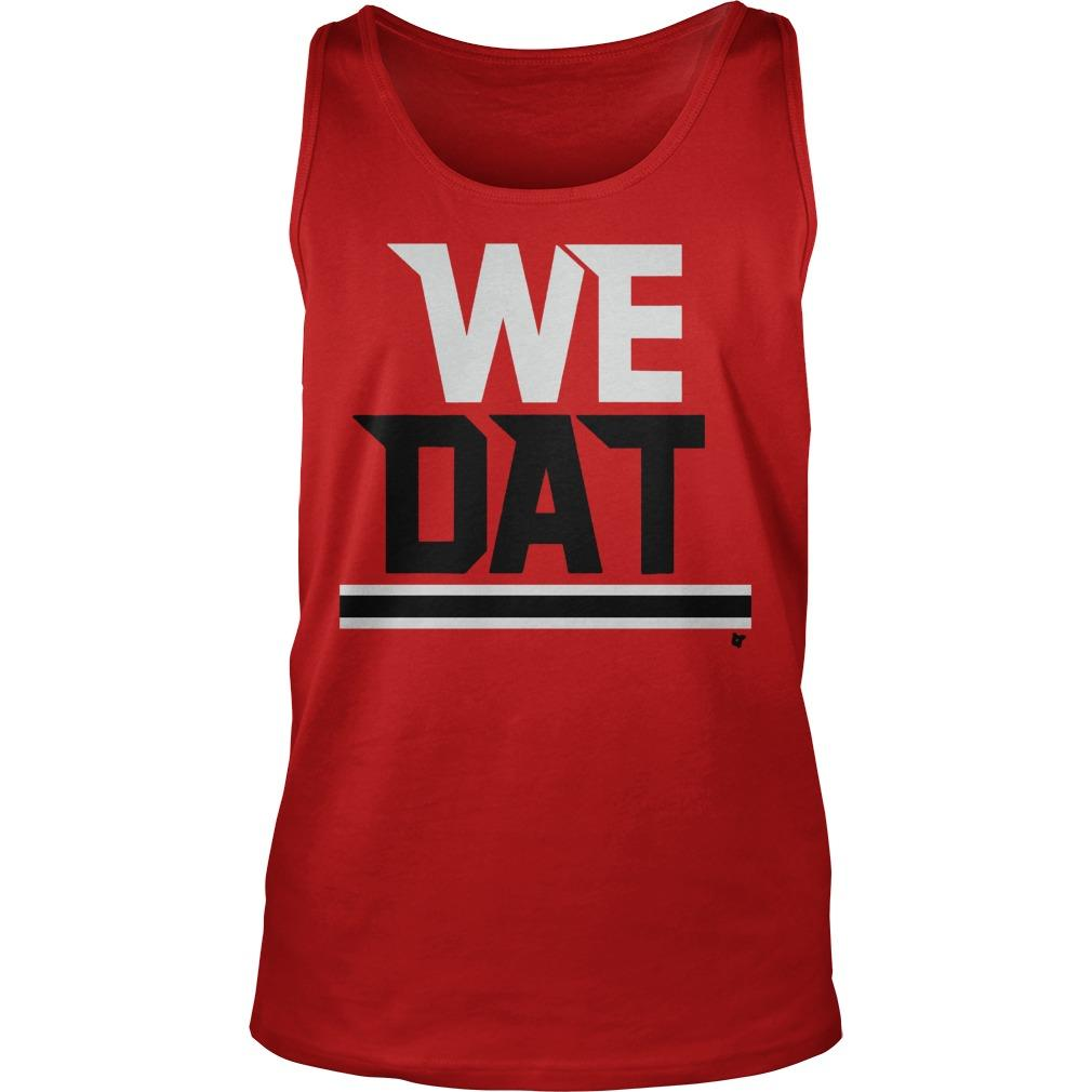 The Falcons Saints We Dat Tank Top