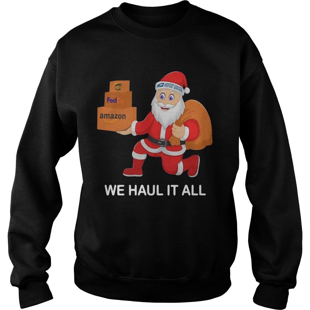 United States Postal Service Santa We Haul It All Sweater