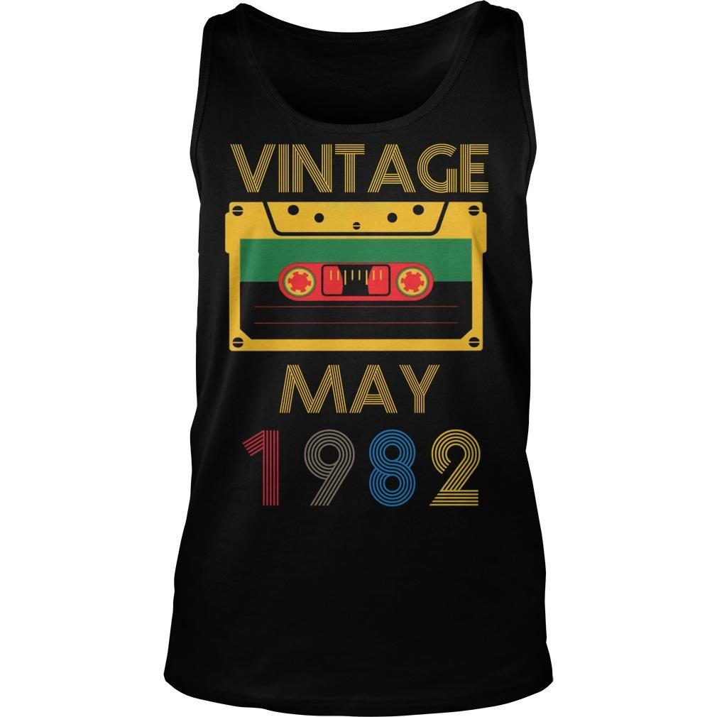 Video Tape Vintage May 1982 Tank Top