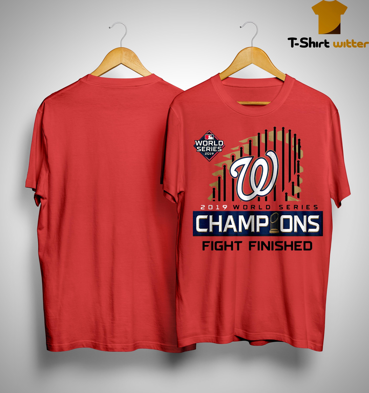 Washington Champions Fight Finished Shirt