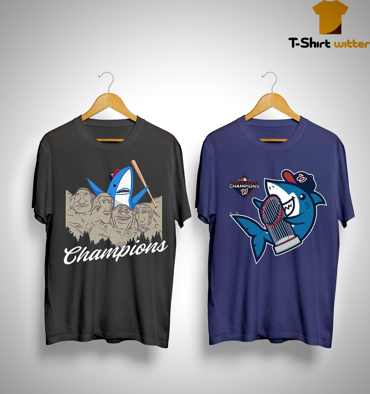 Washington Nationals Baby Shark Shirt
