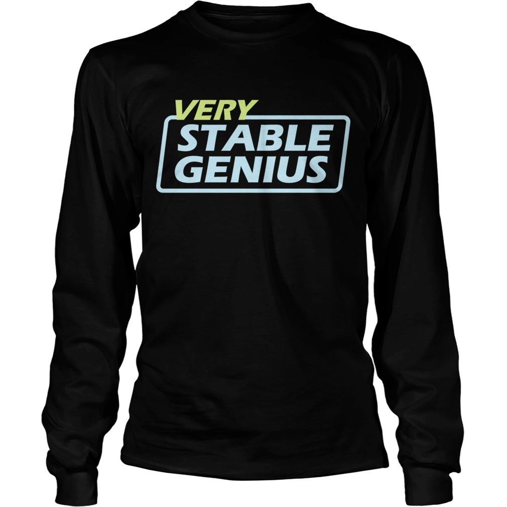 Will Very Stable Genius Longsleeve