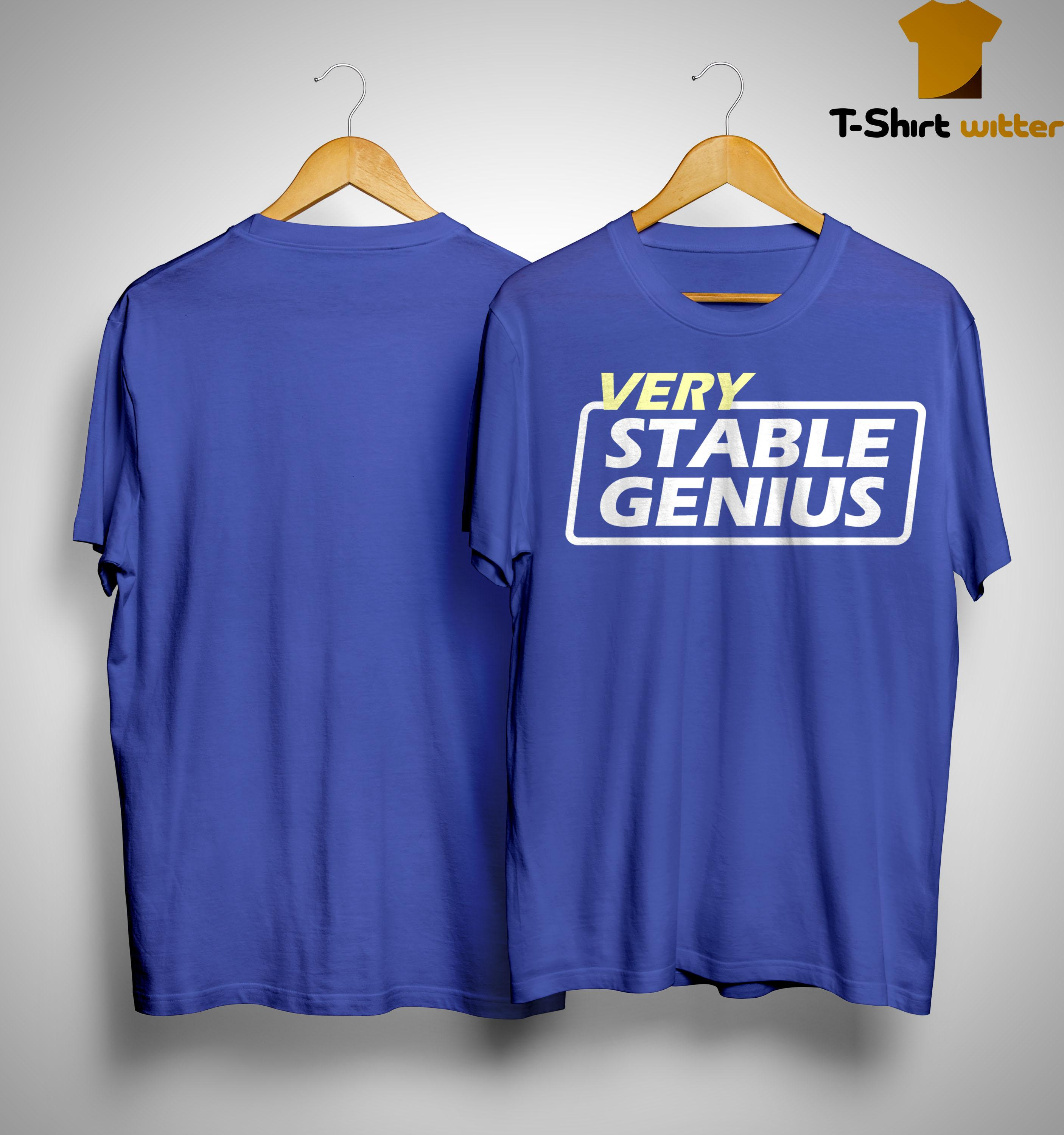 Will Very Stable Genius Shirt
