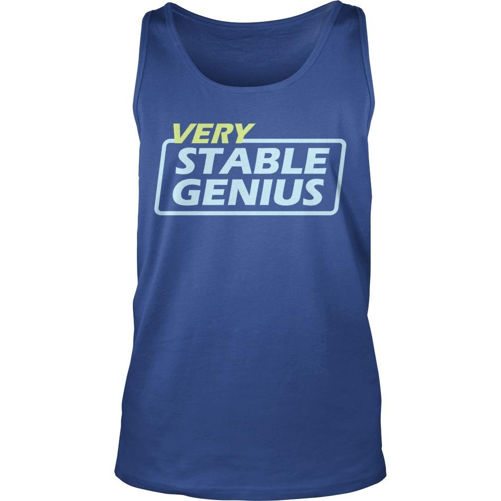Will Very Stable Genius Tank Top