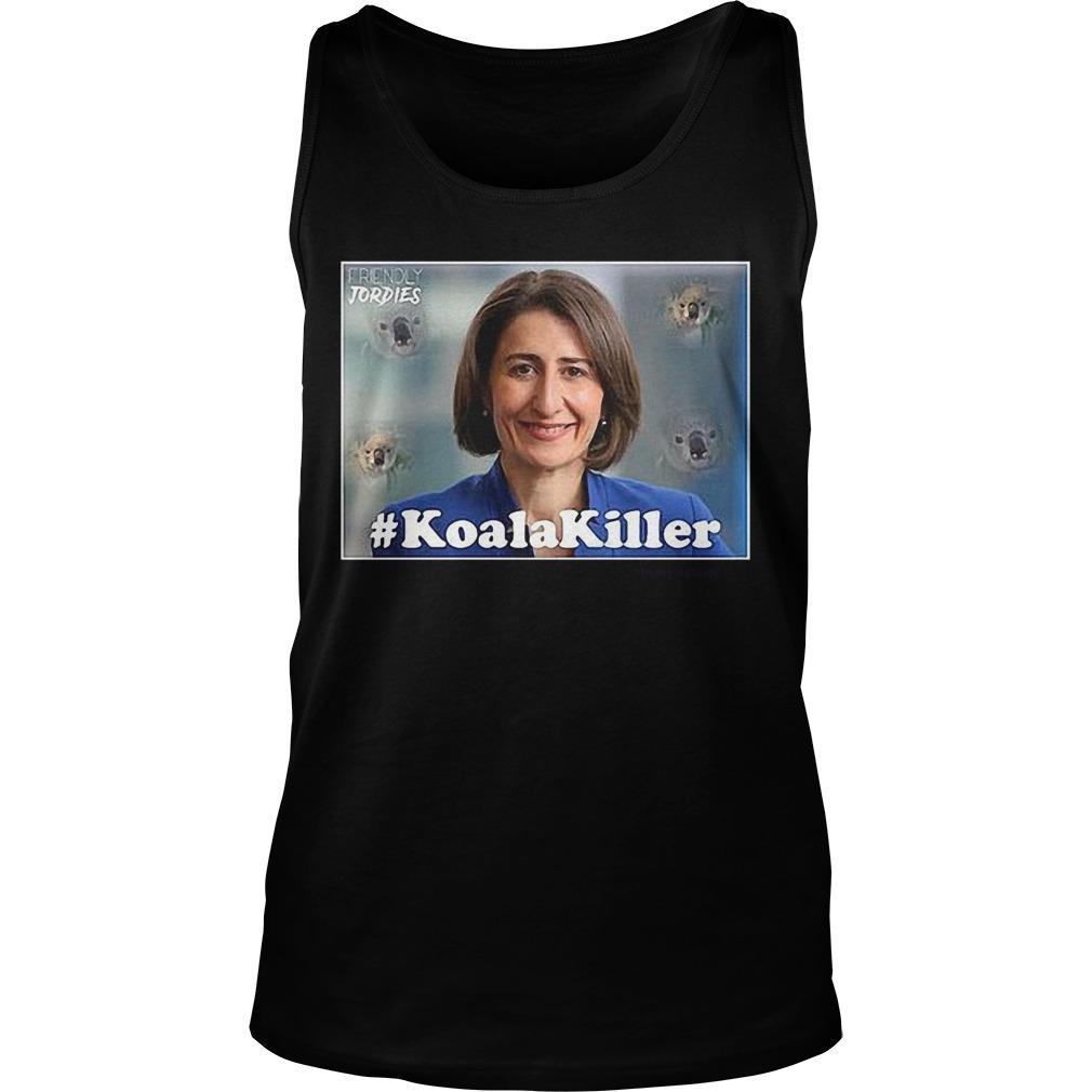 Youtube Berejiklian #koalakiller Tank Top