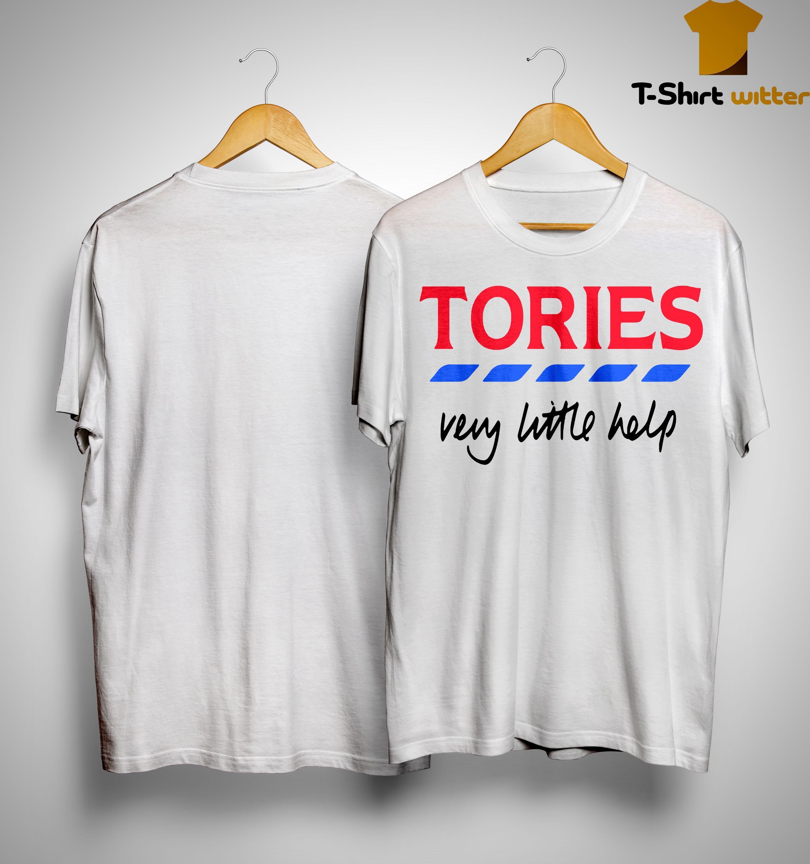 Billie Piper Tories Very Little Help T Shirt