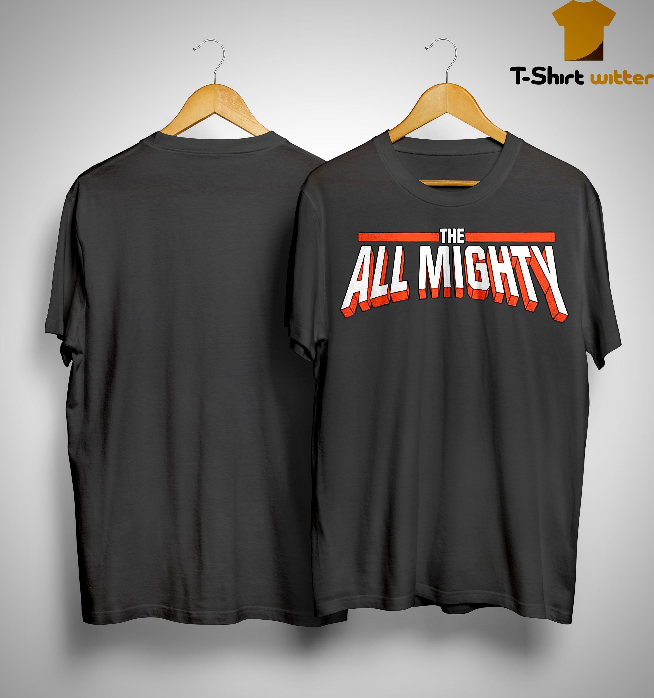 Bobby Lashley Vs Rusev The All Mighty Shirt