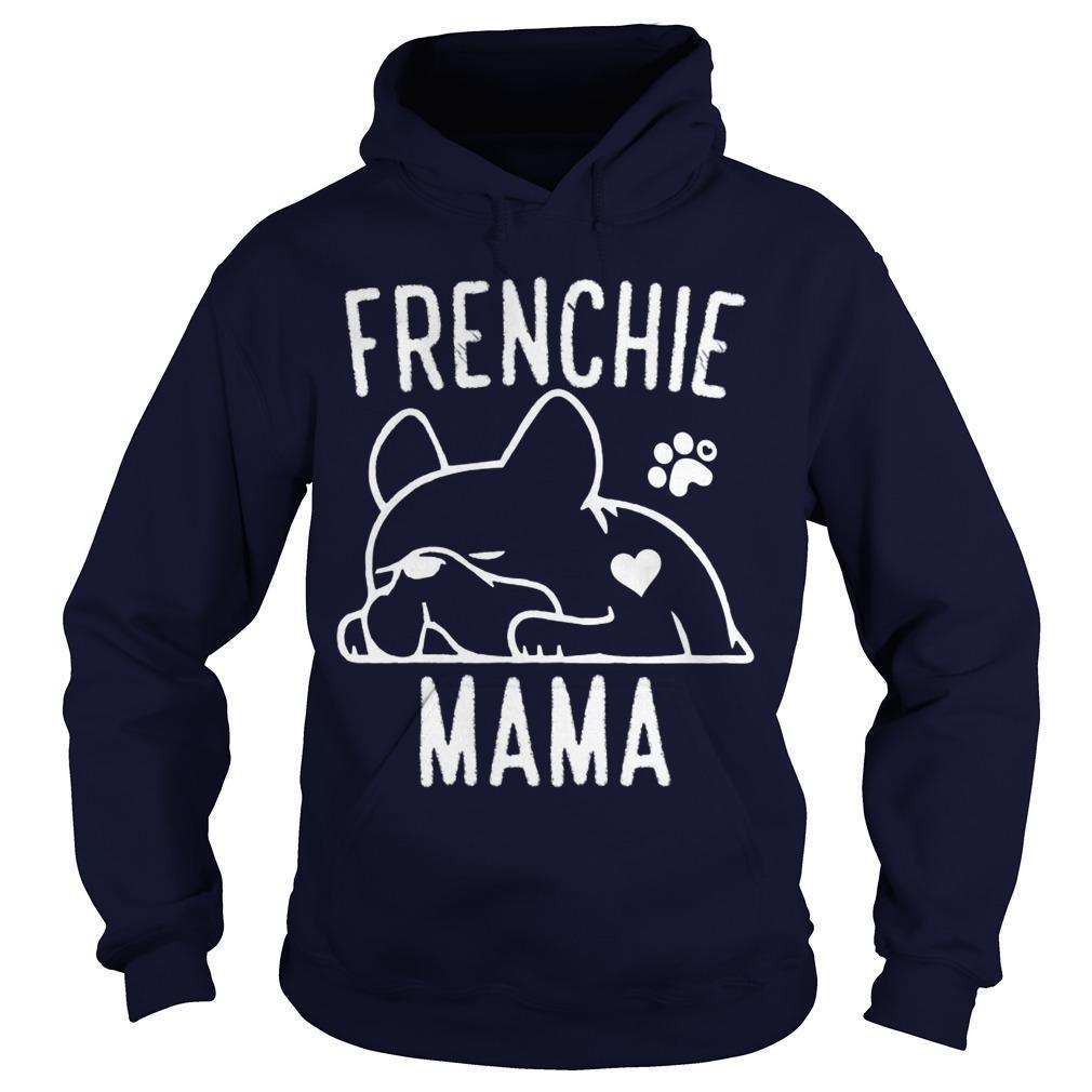 Bulldog Frenchie Mama Hoodie