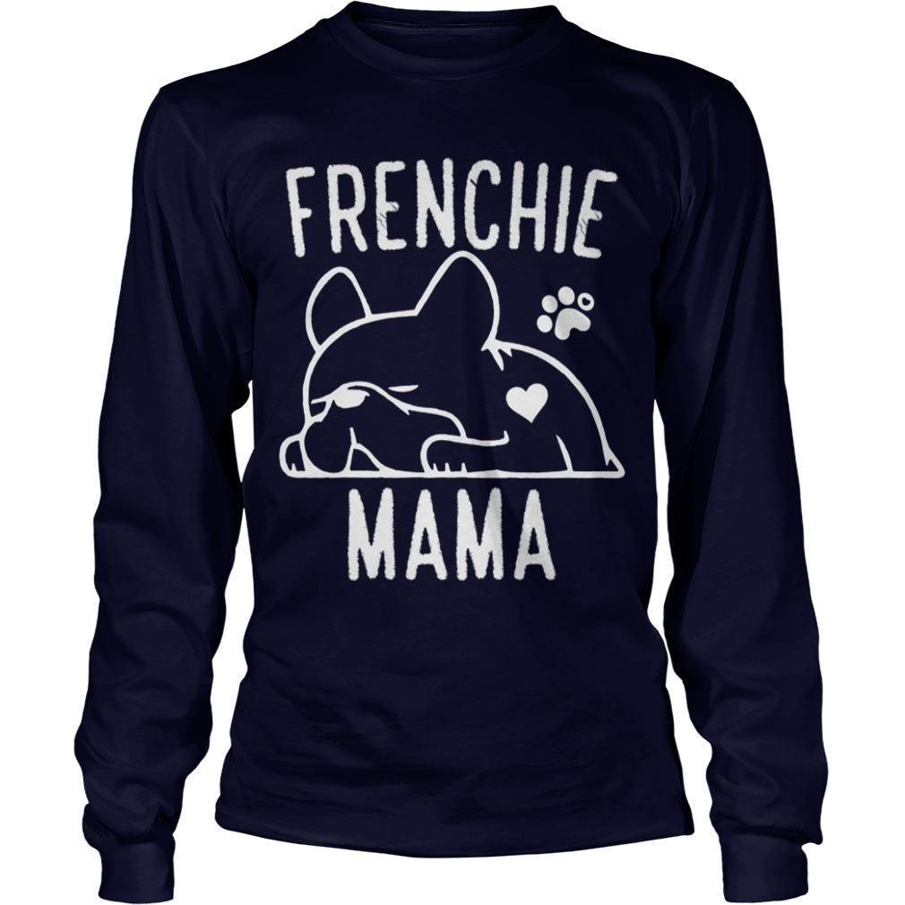 Bulldog Frenchie Mama Longsleeve