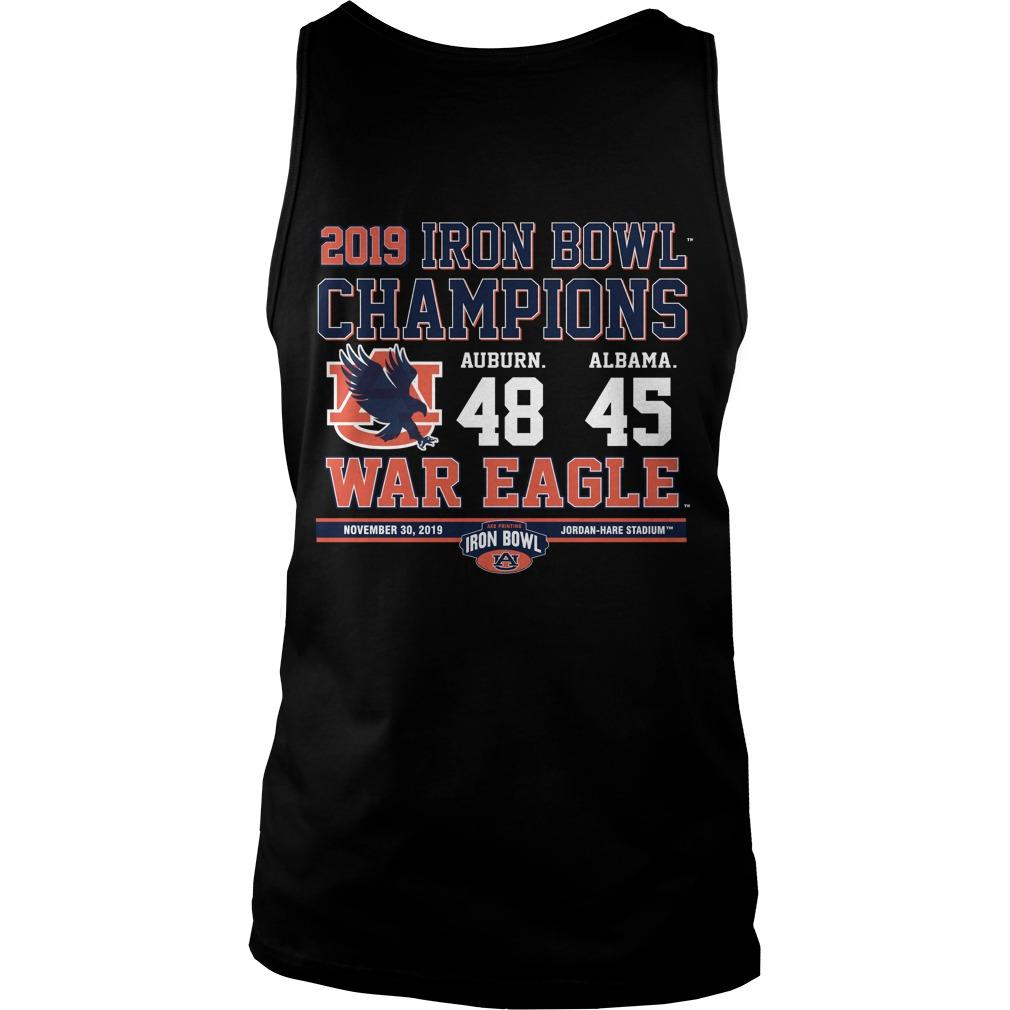 Iron Bowl 2019 Tank Top