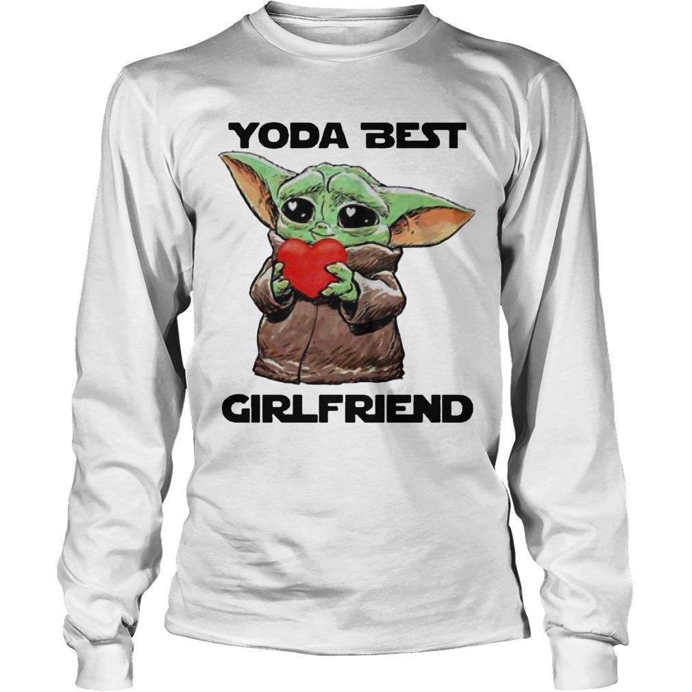 Baby Yoda Best Girlfriend Longsleeve