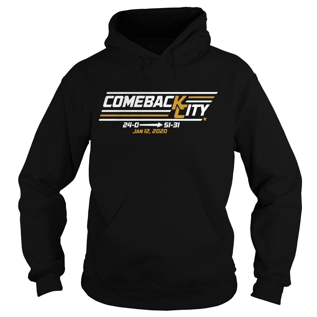 Come Back Chief City Jan 12 2020 Hoodie