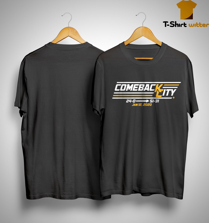 Come Back Chief City Jan 12 2020 Shirt