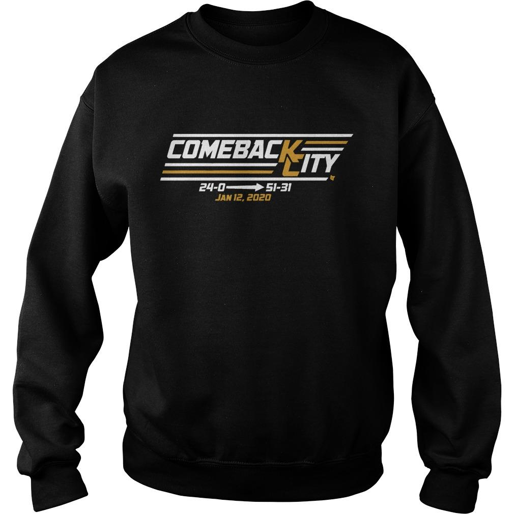 Come Back Chief City Jan 12 2020 Sweater