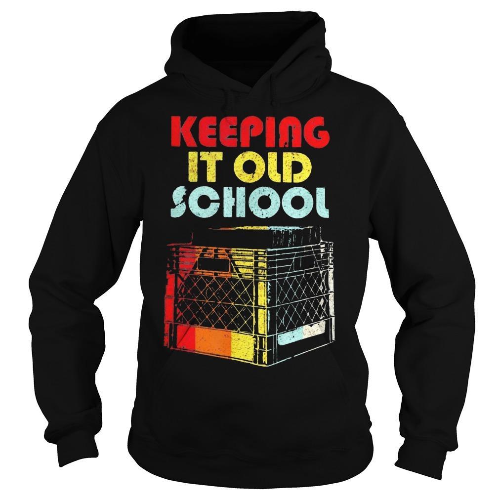 Dj Keeping It Old School Hoodie