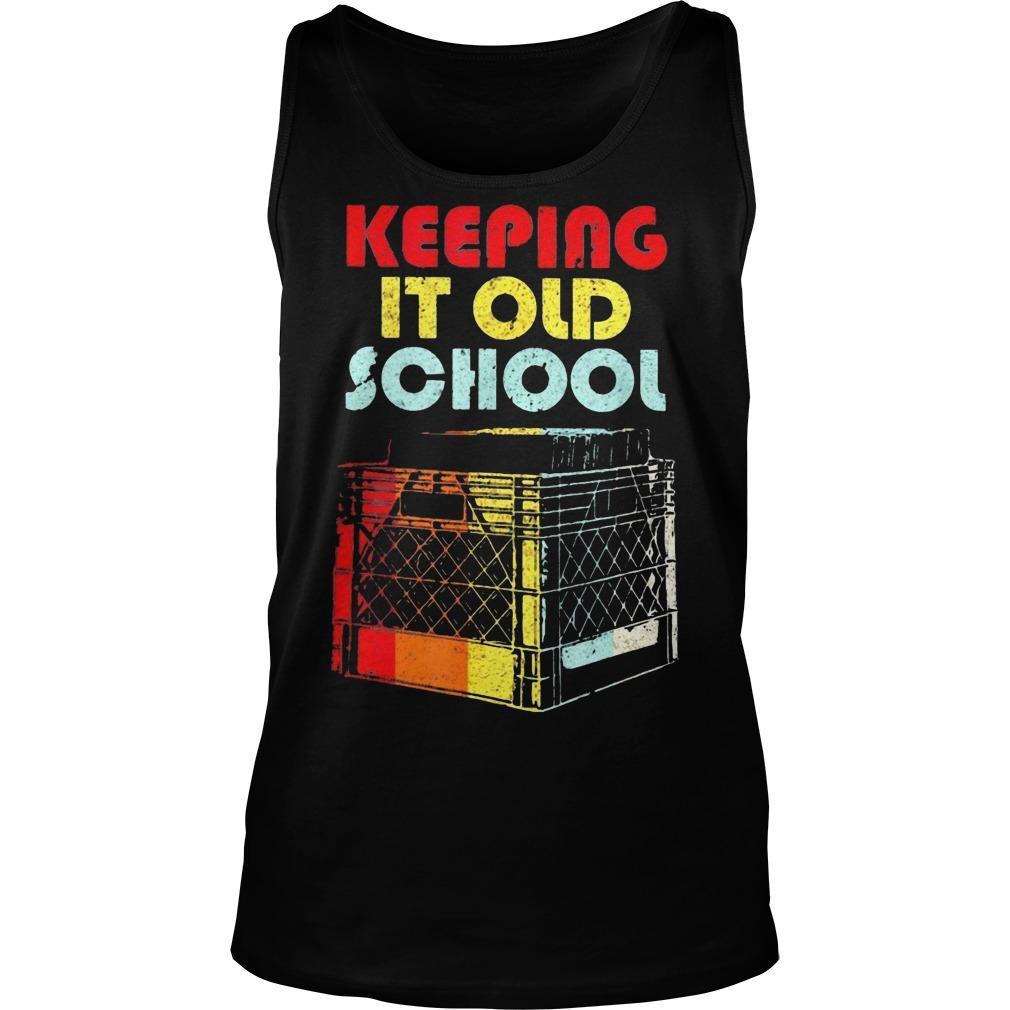 Dj Keeping It Old School Tank Top