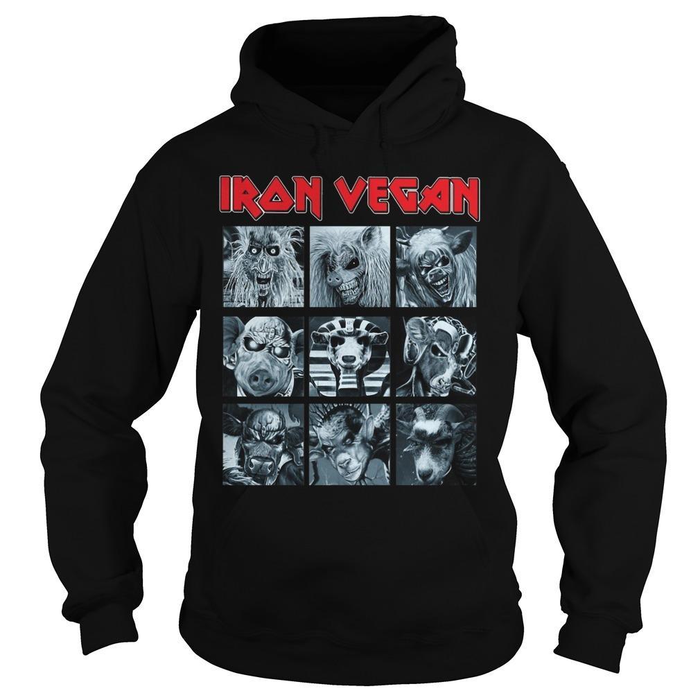 Iron Vegan Hoodie