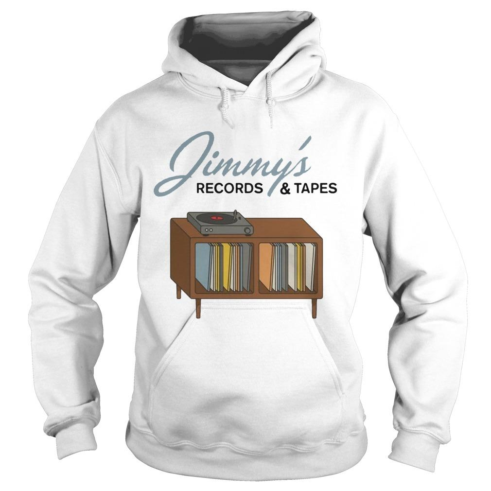Jimmy's Records And Tapes Hoodie