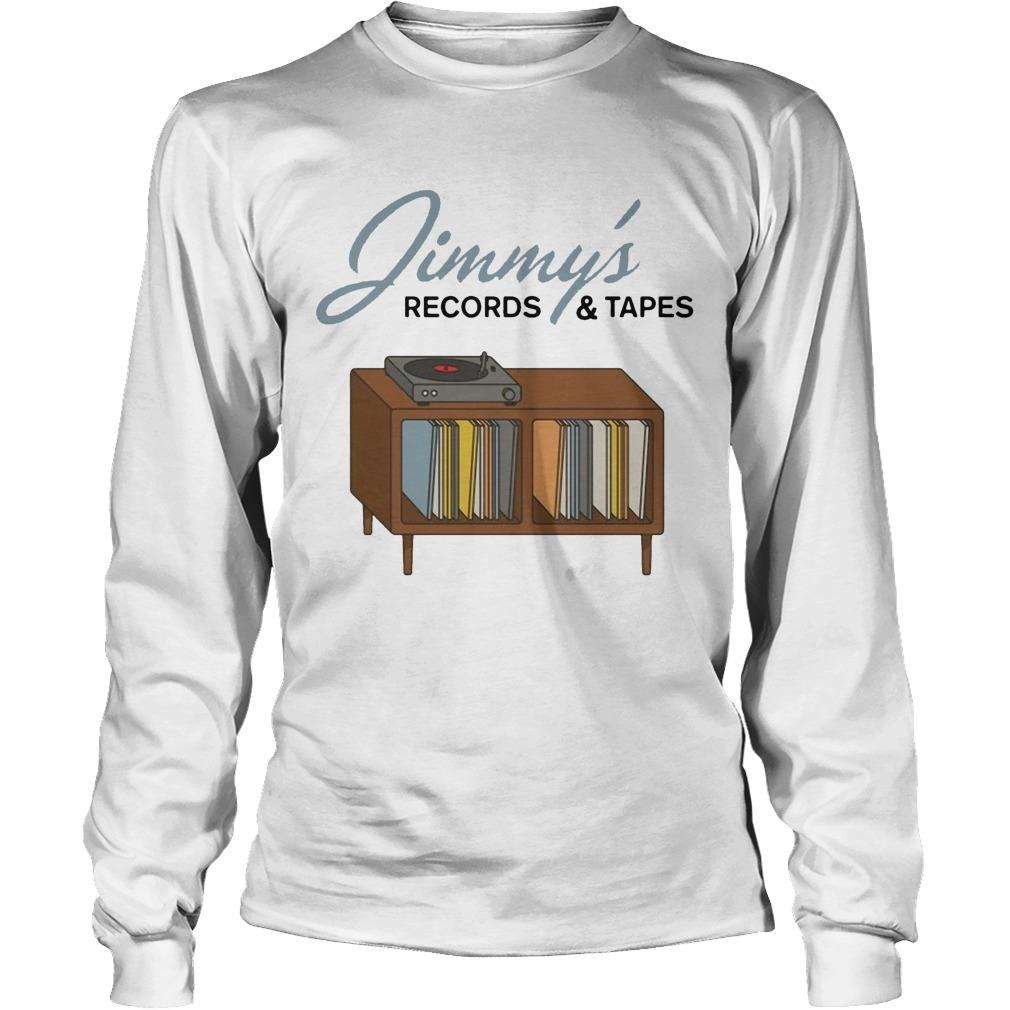 Jimmy's Records And Tapes Longsleeve