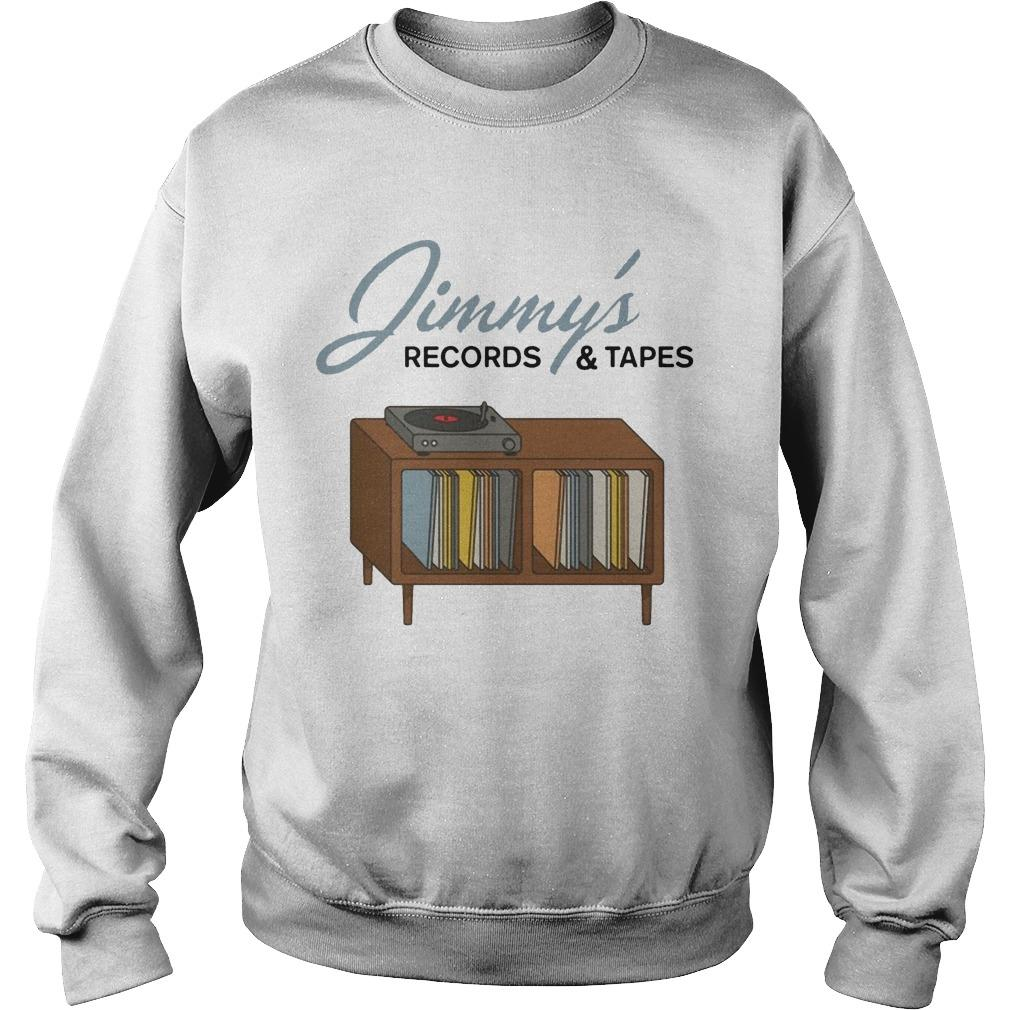 Jimmy's Records And Tapes Sweater